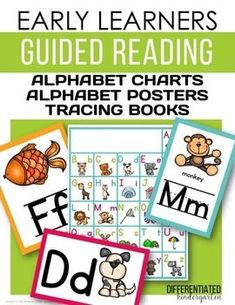 Early Learners Guided Reading-Alphabet Posters, Charts and Tracing books.1