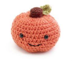 Image of Amigurumi Happy Pumpkin