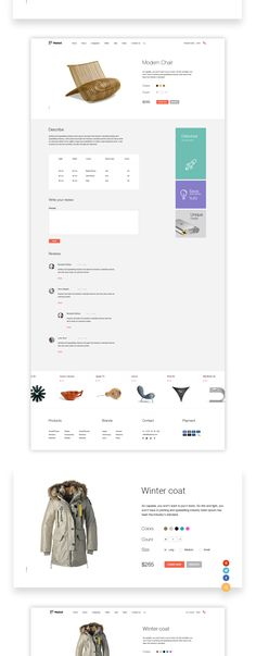 Market is an elegant online store solution on Web Design Served Mall Design, Store Design, Design Shop, Web Layout, Layout Design, E Commerce Business, Ecommerce Solutions, Branding, User Interface Design