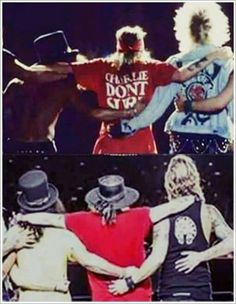 Gnr then and now
