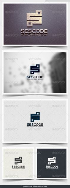 Sescode Logo Template (Letters)