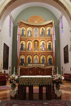 Cathedral Basilica of St. Francis of Assisi - Main Altar and Reredos ...