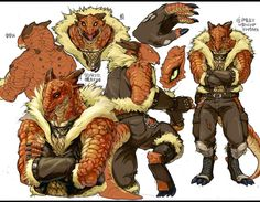 Lizard man by inubiko on DeviantArt