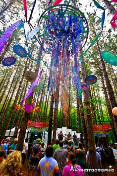 The overall experience of Electric Forest is so immersive and well-curated that it wins top marks for ambience across the board. There's something to be said for focus, and that's where the Forest wins; instead of being everything to everyone, the festival concentrates on creating an electronic enchanted forest and executes it well