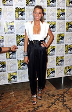 """Blake Lively Photo - """"Green Lantern"""" Carpet - 2010 Comic-Con"""
