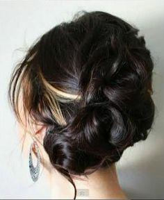 pretty wedding hair