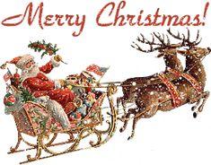 Christmas glitter graphics