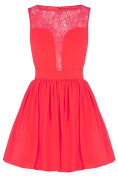 Coral dress Oasis  Summer 2013