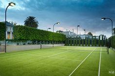 Amazing tennis court. 35 Sackville Street, Kew. 5 Bedroom House, Luxury Homes, Tennis, Street, Amazing, Image, Luxurious Homes, Luxury Houses, Walkway