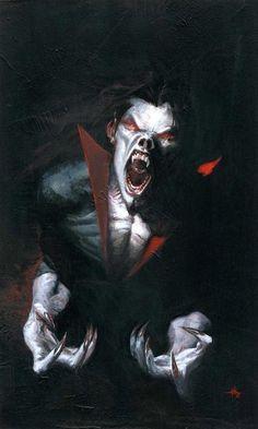 Morbius: The Living Vampire #1 Comic Art by Gabriele Dell'Otto
