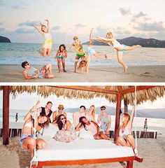 Glee cast on vacation 2012 Mexico
