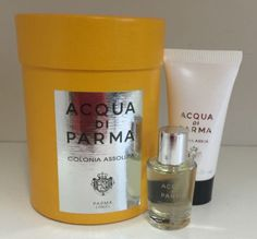 Acqua di parma #colonia #assoluta #miniature gift set,  View more on the LINK: 	http://www.zeppy.io/product/gb/2/121753576894/