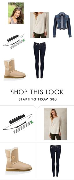 """""""Untitled #159"""" by girlwhosparkles ❤ liked on Polyvore featuring prAna, UGG Australia, rag & bone/JEAN and maurices"""