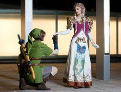 Link and Zelda by *ivettepuig on deviantART