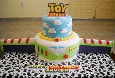 Toy Story/Buzz Lightyear Cake!