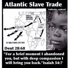 West African Atlantic slave trade.