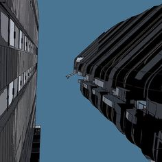 Looking up in London