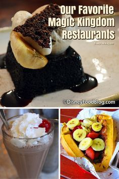 Our Favorite Magic Kingdom Restaurants! So many great ones to choose from.we would love to hear your favorites too! Magic Kingdom Dining, Magic Kingdom Food, Disney World Magic Kingdom, Disney World Food, Disney World Parks, Disney Tips, Walt Disney, Disney 2017, Disney Recipes