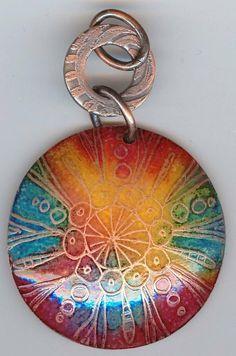 artful images enamel jewelry - Google Search