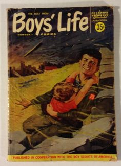 The Best From Boys' Life #1 Silver Age 1957 Classics Illustrated Comic Book Magazine GD+ 2.5