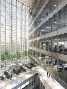 CGarchitect - Professional 3D Architectural Visualization User Community   Office Atrium02