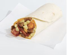 Sonic's Ultimate Meat & Cheese Breakfast Burrito™  Breakfast doesn't get better than the all-new Ultimate Meat & Cheese Breakfast Burrito™ with crispy bacon, savory sausage, golden tots, fluffy eggs and melty cheddar cheese, all wrapped in a warm flour tortilla.