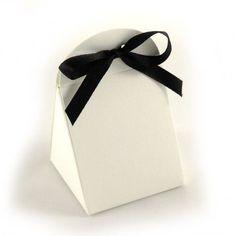 Boîtes dragées Scylla Noir & Blanc (x10)