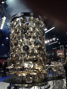 This is the SABIAN Tower of innovation.
