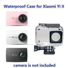 Free Shipping!!Diving 40m Waterproof Case for Yi 4K  Sports Camera II 2 Case Xiaomi YI 4K Action Camera 2 Protective Housing