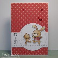 Ruby-Dooby-Doo Crafts: Baby Bunny and Shona's Birthday card