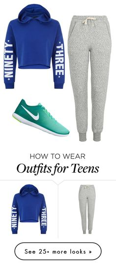 """""""Untitled #600"""" by vaniadenisse16 on Polyvore featuring New Look, Topshop and NIKE"""