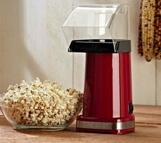 Cuisinart Easy Pop Hot Air Popcorn Maker – $40 because the microwave bags are rancid and full of chemicals