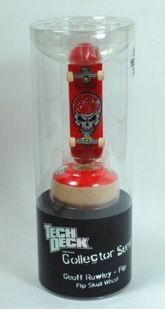 Tech Deck Collector Series - Geoff Rowley Flip Skull Wheel - Limited Edition of 10,000