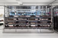 Marc Jacobs Beauty in New York. More here: http://vmsd.com/content/setting-stage