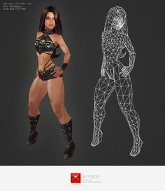 New Game Characters, Female Characters, 3ds Max Tutorials, Computer Generated Imagery, Female Base, Models Needed, Low Poly Models, Female Reference, 3d Models