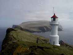 Mykineshólmur Lighthouse by Felix van de Gein, via Flickr (Faeroe Islands)