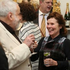 Mike Leigh and Imelda Staunton