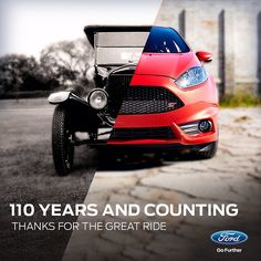 Happy 110th Birthday Ford. Photo by ford.