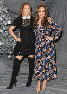 Jennifer Lopez and Leah Remini's Friendship Steals the Spotlight at This Second Act Photo Call - Leah Remini Family, Jennifer Lopez Music, J Lo Fashion, My Idol, Spotlight, Besties, Acting, Friendship, Beautiful Women