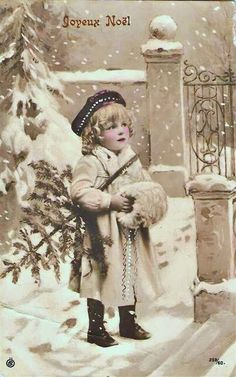free french country printables | ... Country Style: Vintage French Christmas Postcard Printables! FREE