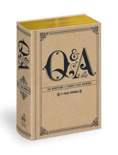 Q & A a Day Journal - Be Made