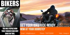 #GET #YOUR #BIKE #RIDE #READY.. #NOW #AT #YOUR #DOORSTEP Find More :- http://www.hoopy.in/  Call at :- 7337733550