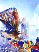 Jonathan Wheeler, watercolour artist based in Findhorn Scotland, specialising in Scottish castles and scenes including Edinburgh. Limited edition and signed edition prints for sale - commissions undertaken. Scottish Castles, Watercolor Print, Prints For Sale, Contemporary Art, Art Gallery, Artist, Watercolours, Exhibitions, Bridges