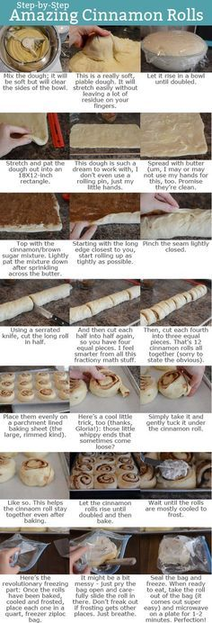 Alicia's Cinnamon Rolls (she uses twice the frosting. Use whole milk for a softer dough): The Perfect Cinnamon Rolls {Gloria's Famous Recipe With Tips on How To Freeze} Kitchen Aid Recipes, Baking Recipes, Dessert Recipes, Kitchen Aid Cinnamon Roll Recipe, Kitchen Tools, Kitchen Gadgets, Lemond Curd, Famous Recipe, Bread And Pastries