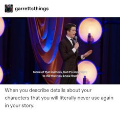 this is my second post about john mulaney so i guess this is a john mulaney stan account now Writing Quotes, Writing A Book, Writing Tips, Writing Prompts, Fandoms, Tumblr Funny, Funny Memes, Hilarious, Infp