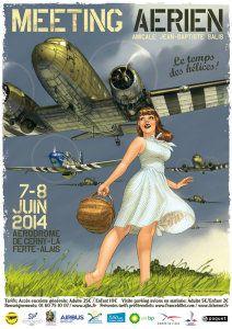 Romain Hugault have done it again - Pin up - Nose Art, Image Avion, Photo Avion, Pin Up Girl Vintage, Airplane Art, Airplane Room, Arte Pop, Aviation Art, Air Show
