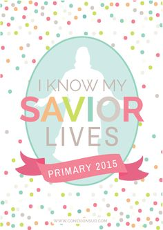 LDS Primary 2015 theme binder printables! Available in Spanish and Portugese, too!