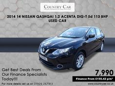 Country Car is the name to trust when it comes to finding used Nissan cars for sale in Warwick. Nissan Qashqai, Amazing Cars, Supercar, Car Ins, Used Cars, Cars For Sale, Classic Cars, Automobile, Finance