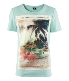 Mint Green Beach Tee