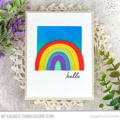 Rainbow Celebration Background, Love Rainbow, Distress Oxide Ink, Mft Stamps, Card Tags, Color Stripes, Clear Stamps, Scrapbook Cards